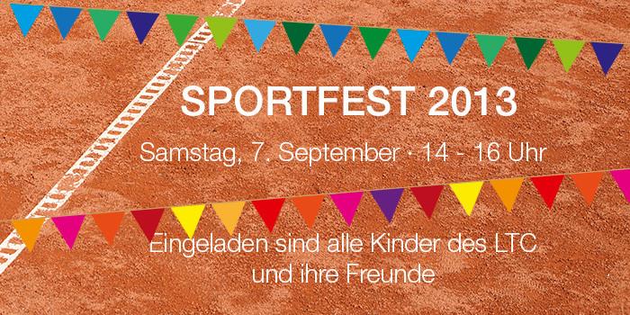 Einladung Sportfest 2013 für Kinder