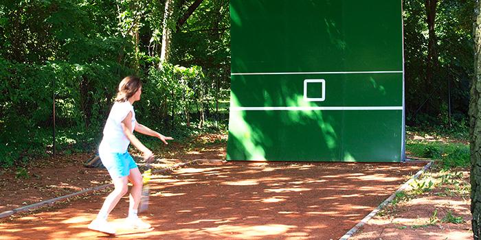 Tennisballwand