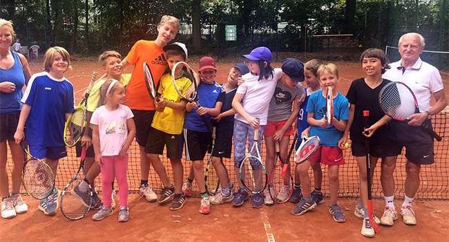 Kindertenniscamp + Kinderturnier 2016