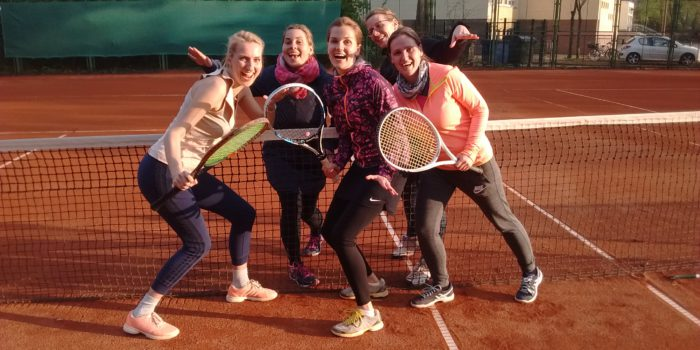 Auftaktmatch der Damenmannschaft