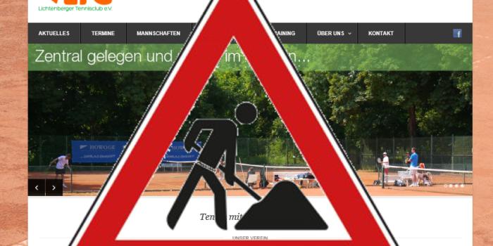 Umzug der Webseite