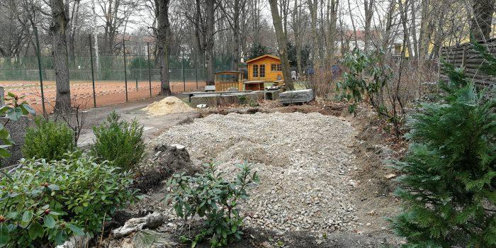 Baufortschritt in der Winterpause