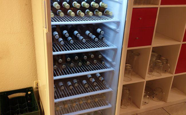 Neuer Getränkekühlschrank