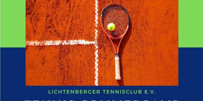 Einschränkungen Platznutzung – Sommer Tenniscamp